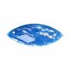Resin Sew-on Dichroic Style 10pcs 12x30mm Navette Aqua